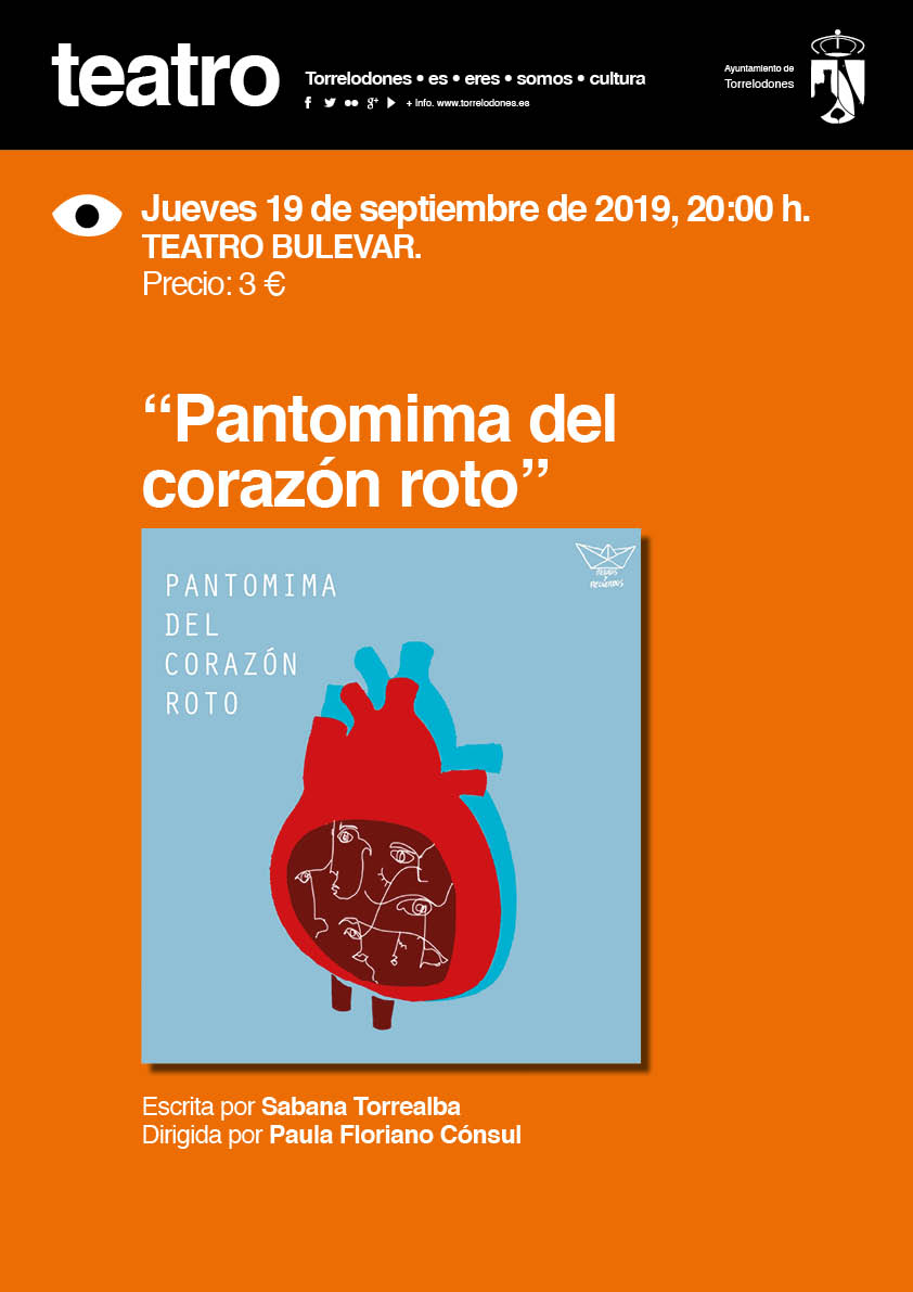 cartel teatro pantomima