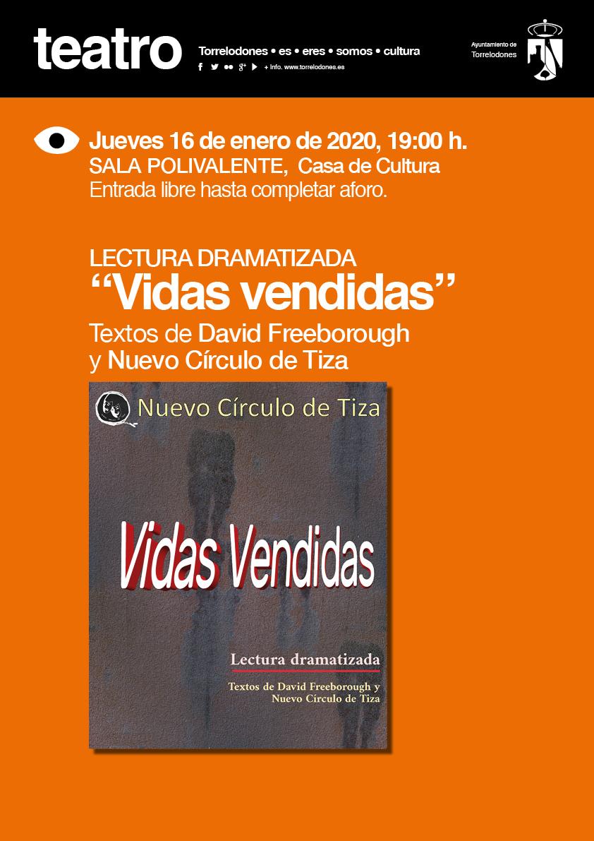 cartel teatro vidas vendidas1