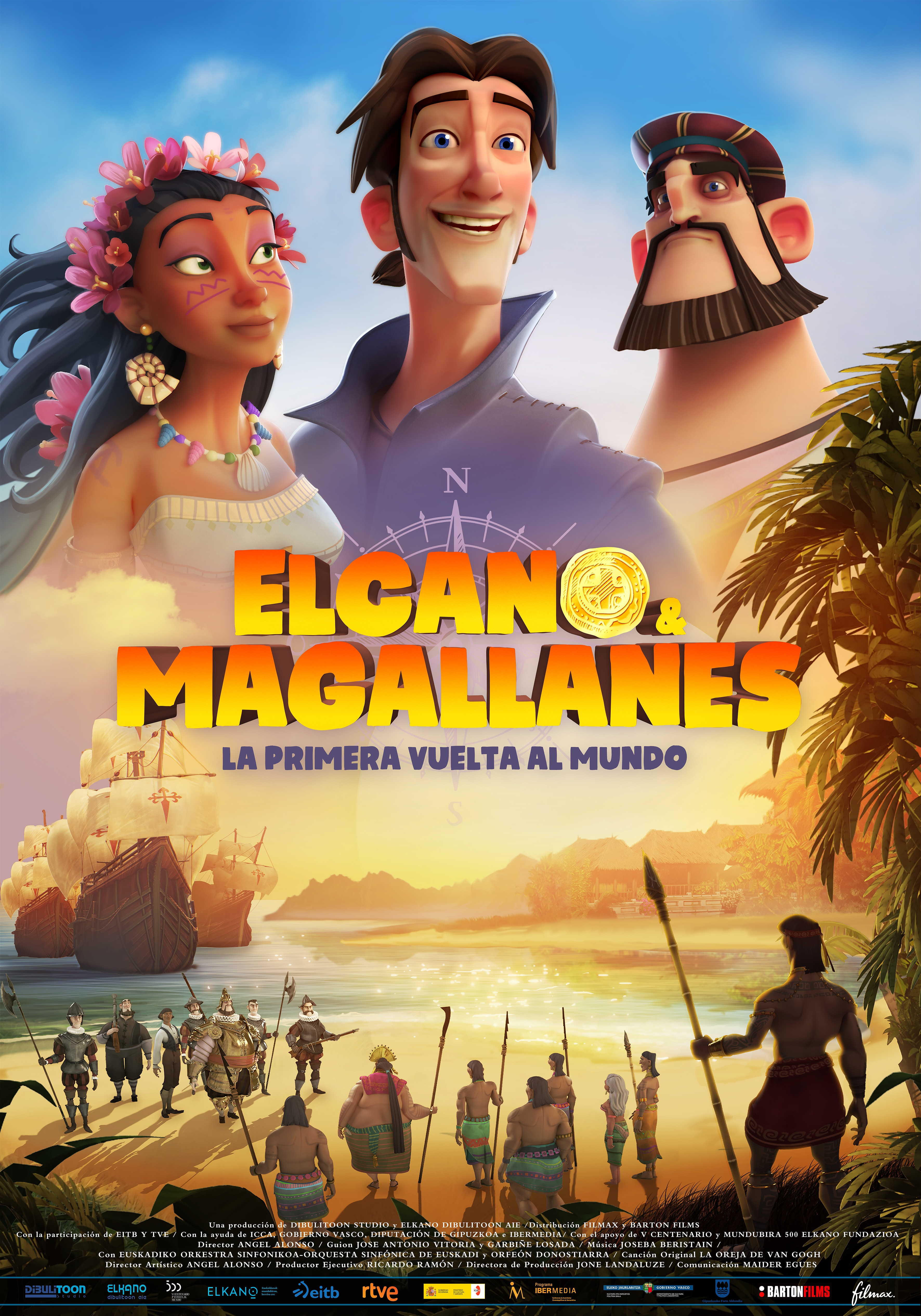 cartel elcano y magallanes