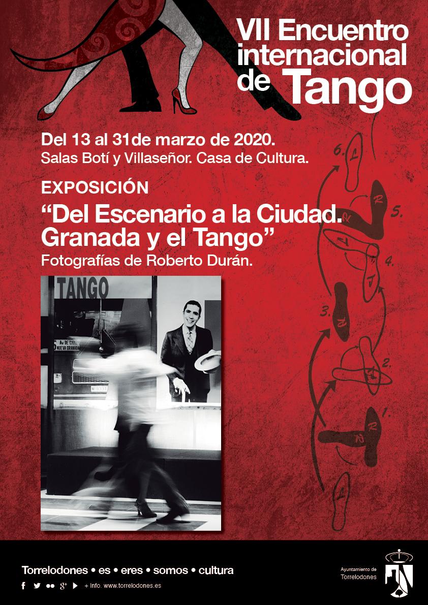 cartel expo foto tango 2020