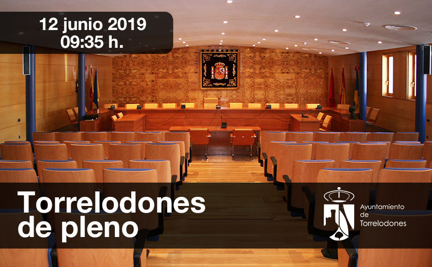Pleno extraordinario junio 2019