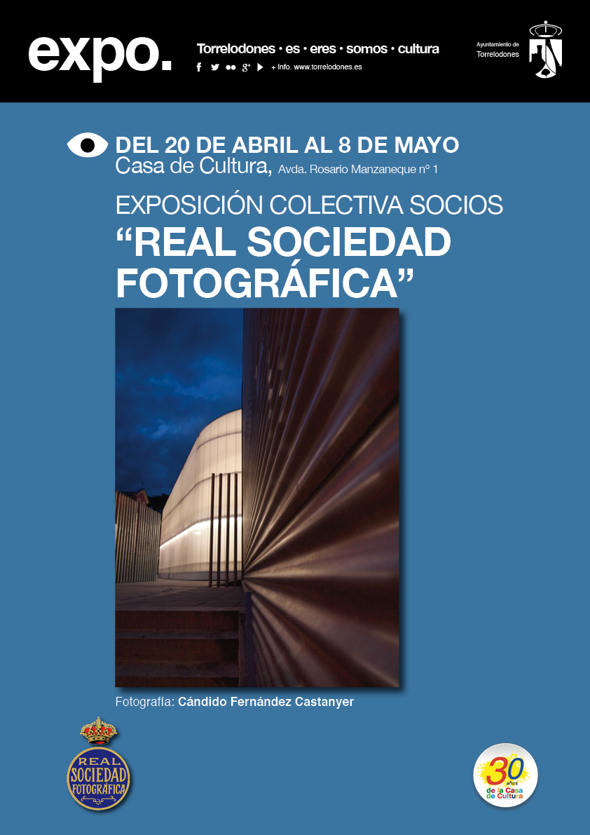 cartel A3 Expo. Real S. Foto. abril 17