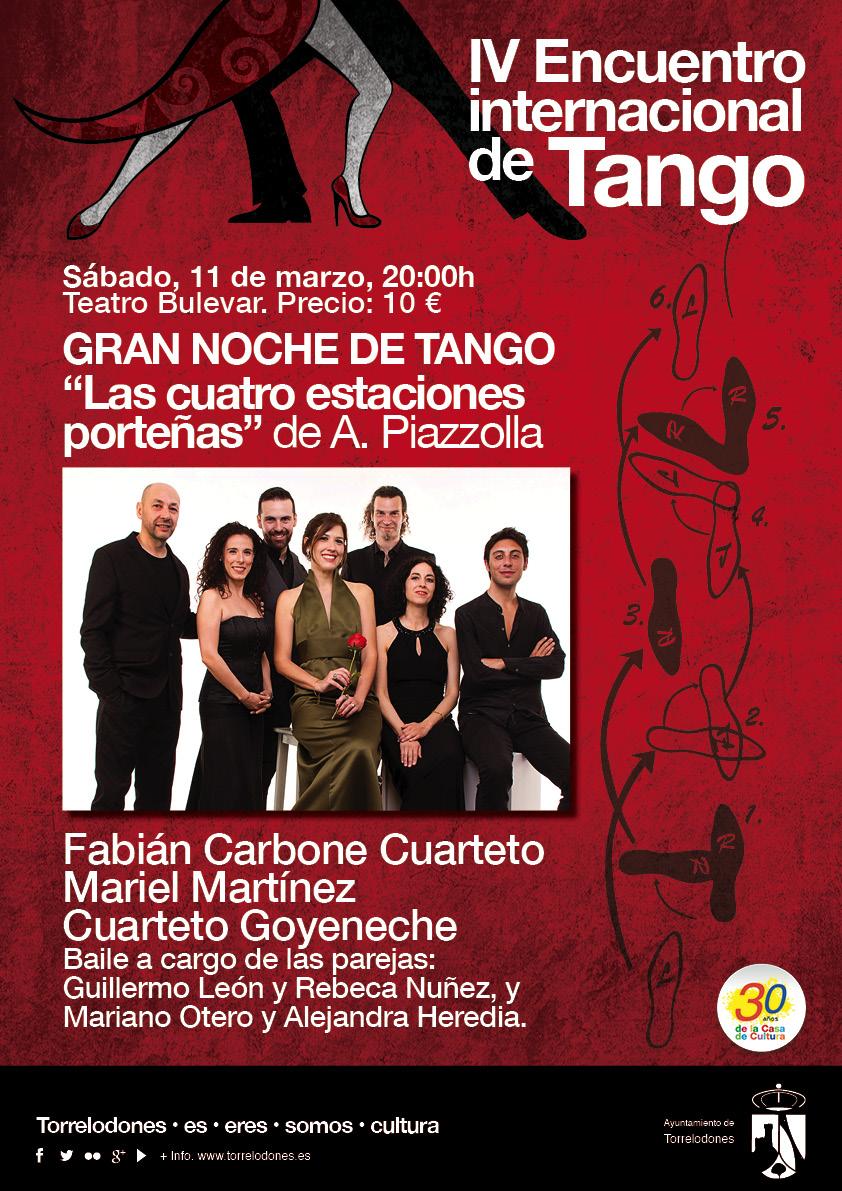 carteles Tango sabado