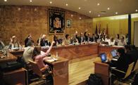 Los Presupuestos para 2015 no fueron aprobados en el pleno celebrado ayer