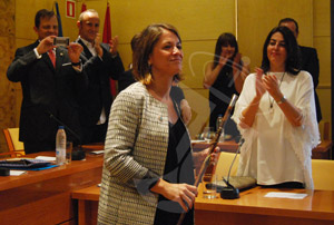 Elena Biurrun, elegida nuevamente alcaldesa de Torrelodones