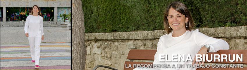 Elena biurrun la recompensa a un trabajo constante - Trabajo en torrelodones ...