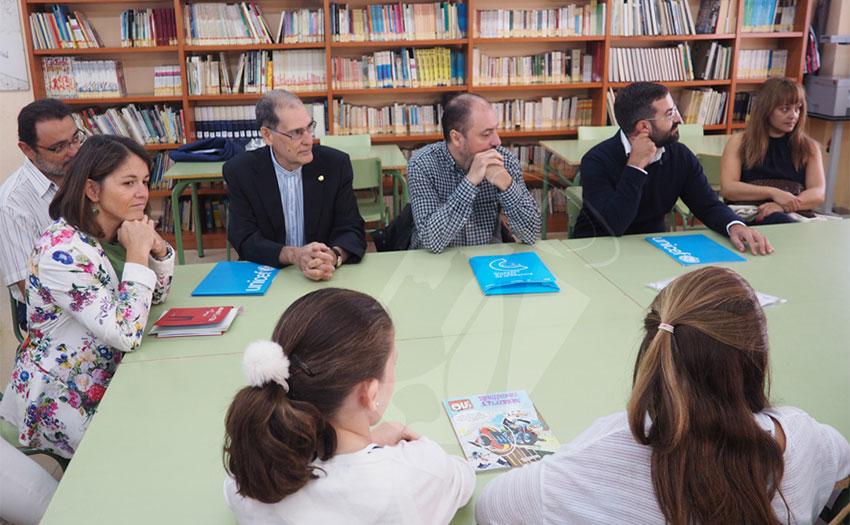 Visita a Torrelodones del comité evaluador de Unicef