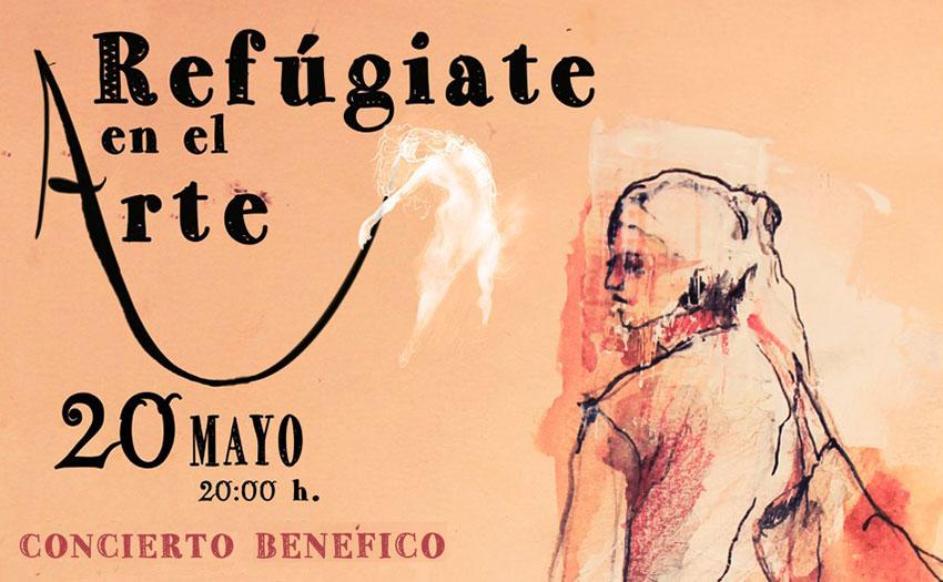 """Concierto solidario """"Refugiate en el Arte"""""""