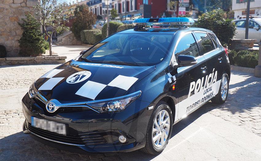 Resultado de imagen de policia local torrelodones