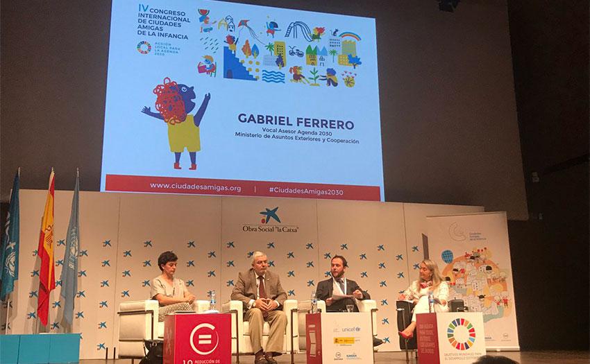 La Alcaldesa Elena Biurrun participa en el IV Congreso Internacional Ciudades Amigas de la Infancia