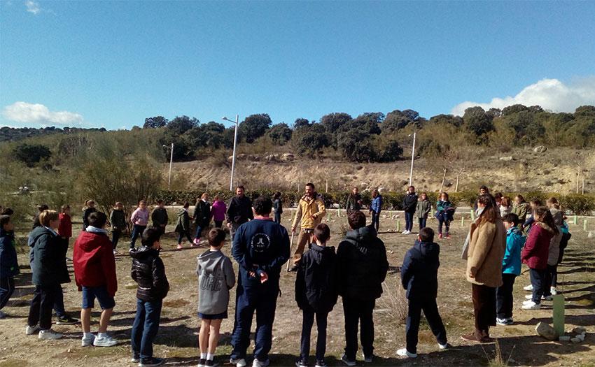 Los escolares de torrelodones llevaron a cabo una - Trabajo en torrelodones ...
