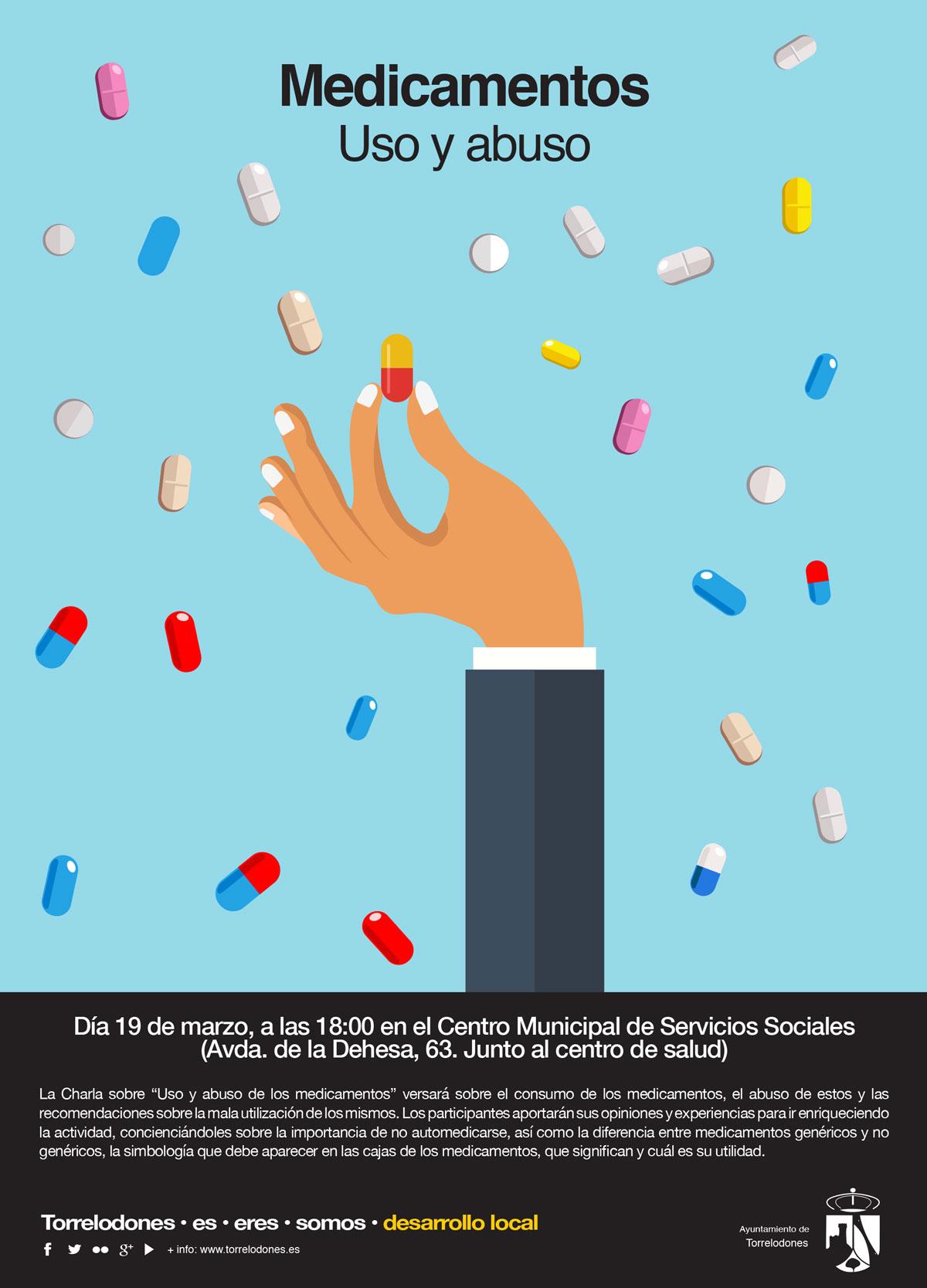 cartel charla automedicacion