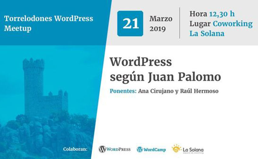 Nuevo grupo de WordPress Meetup en Torrelodones